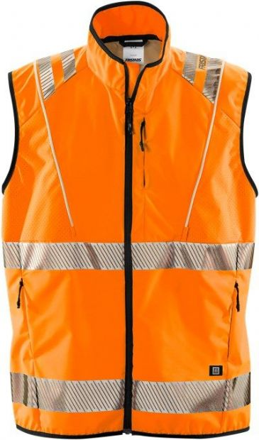 Fristads 5012 LPR High Vis Led Waistcoat Class 2 ( Hi-Vis Orange )